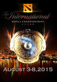 Трансляция The International 2015