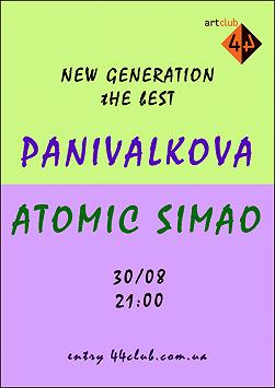 PaniValkova & Atomic Simao «New Generation the best»